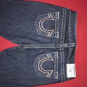 True religion skinny size 27 blue jeans